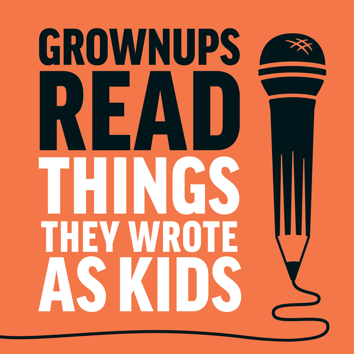 Grownups Read Things They Wrote as Kids logo