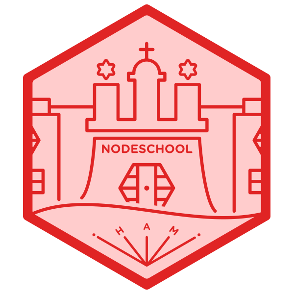 NodeSchool Hamburg Chapter logo