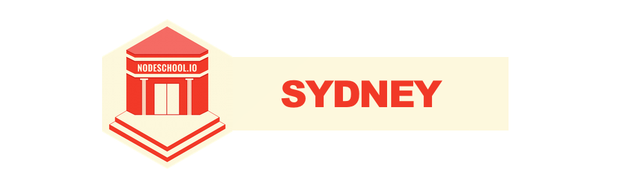 Sydney NodeSchool (June 2014)
