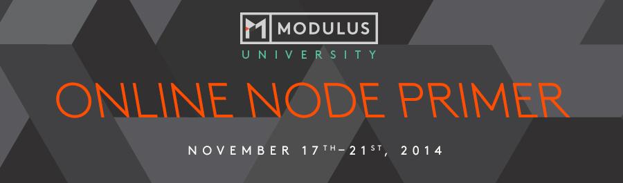 Online Node Primer - Nov 2014