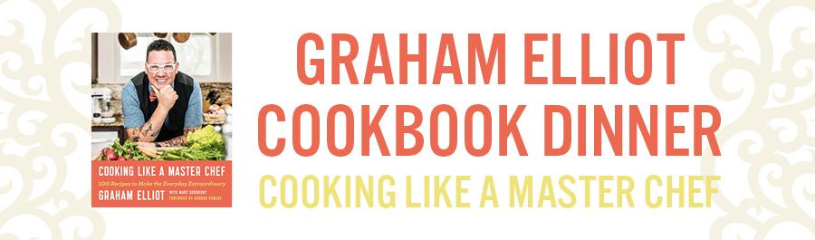 Graham Elliot Cookbook Dinner at Bacchus