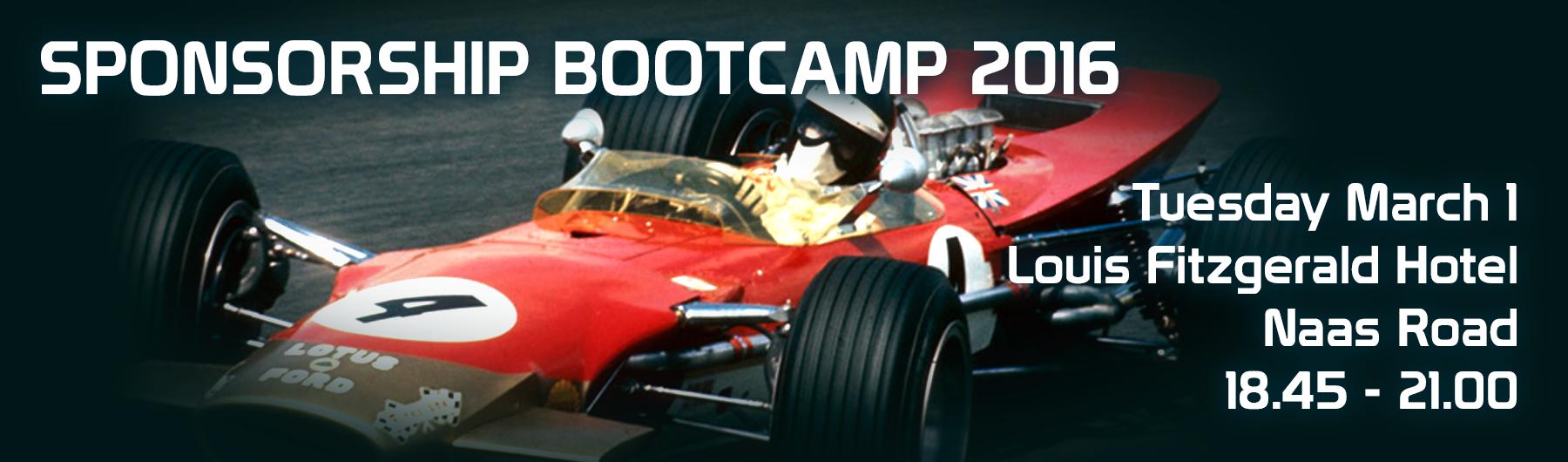 Motorsport Sponsorship Bootcamp 2016