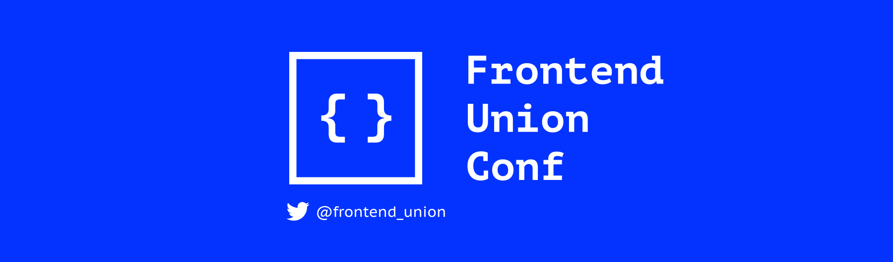 Frontend Union Conf 2016