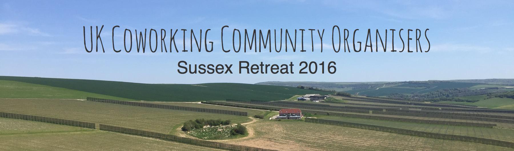 Sussex Coworking Retreat 2016