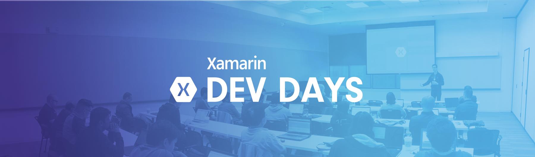 Xamarin Dev Days - Manchester