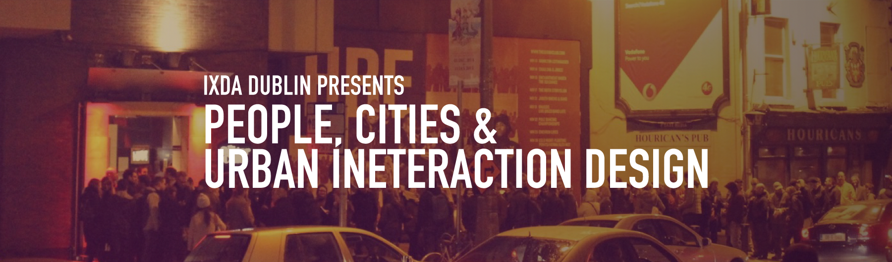 People, Cities & Urban Interaction Design