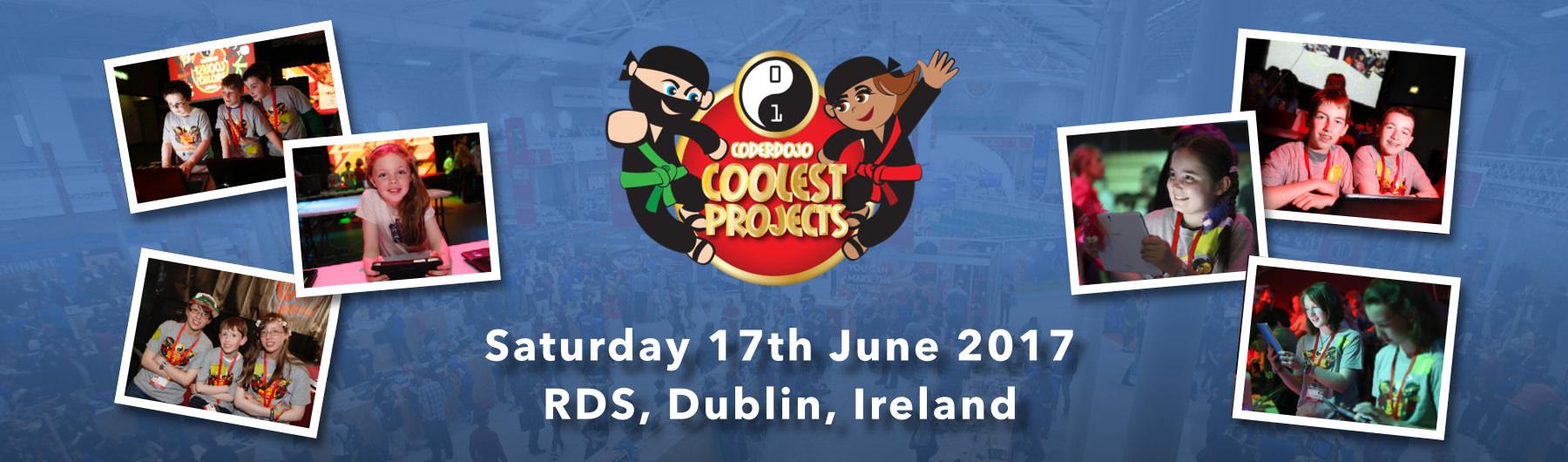 CoderDojo Coolest Projects Showcase 2017