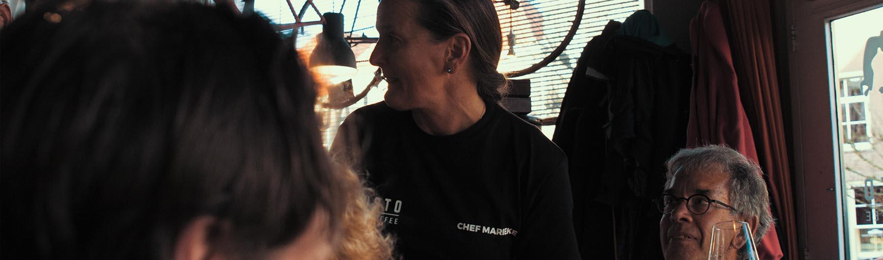 Diner met Peter en Annemarie
