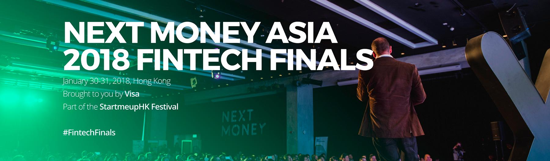 Next Money Asia 2018 Fintech Finals