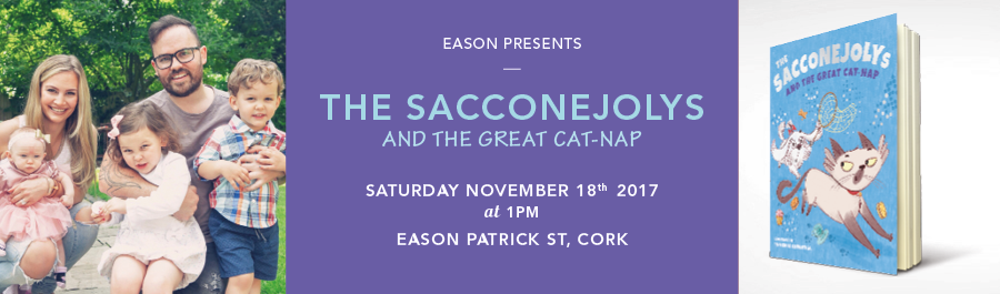 Eason Patrick St, Cork Presents : THE SACCONEJOLYS