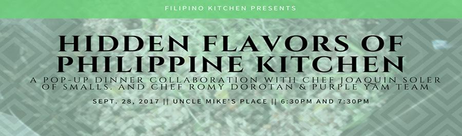 Hidden Flavors of Philippine Kitchen Dinner