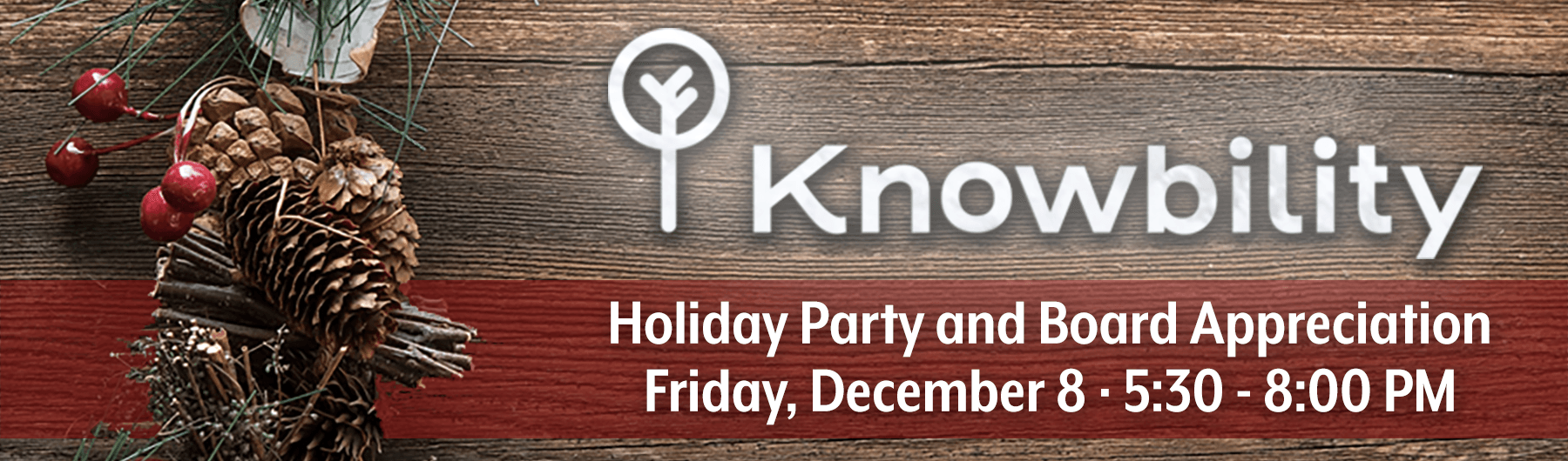 Knowbility Board Appreciation & Holiday Party 2017