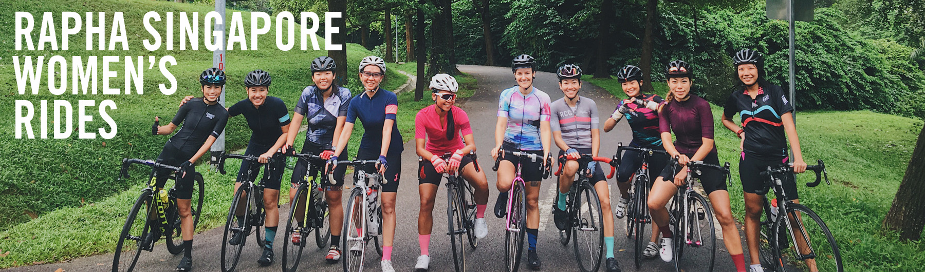 Rapha Singapore Monthly Women's Ride | 7.00am, 21 Jan 2018 | Macritchie Reservoir Drop Off