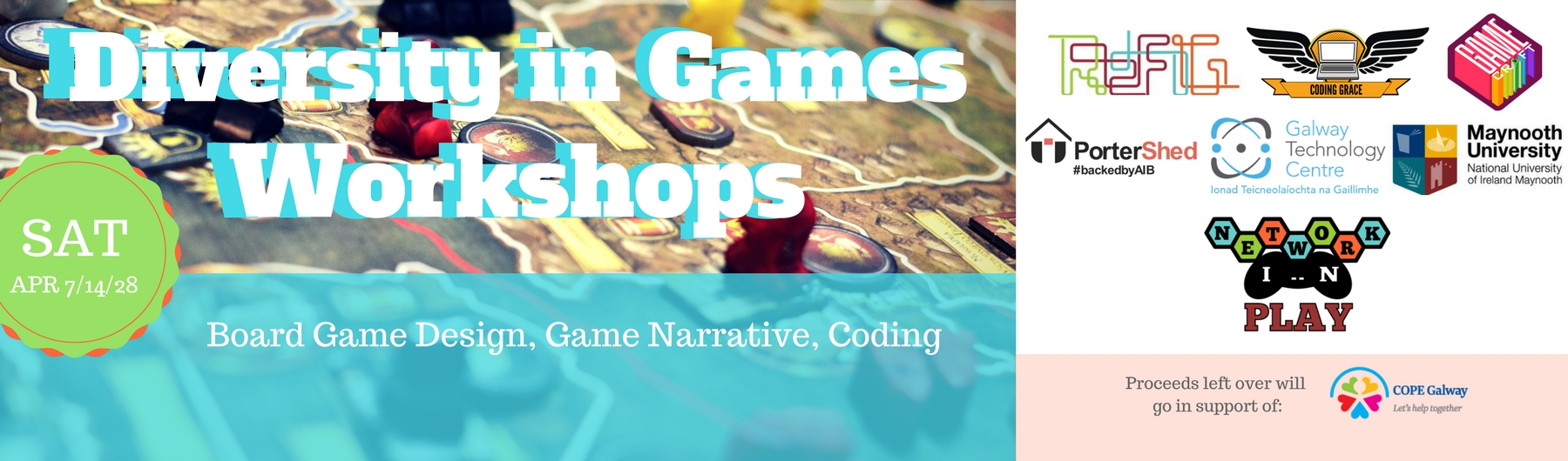 [Galway] Diversity in Games Workshops