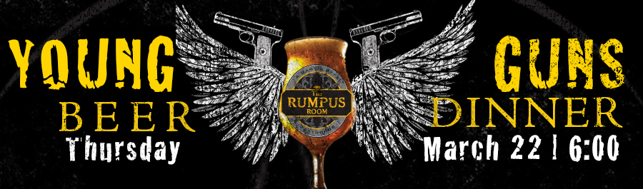 2nd Annual Young Guns Dinner at The Rumpus Room