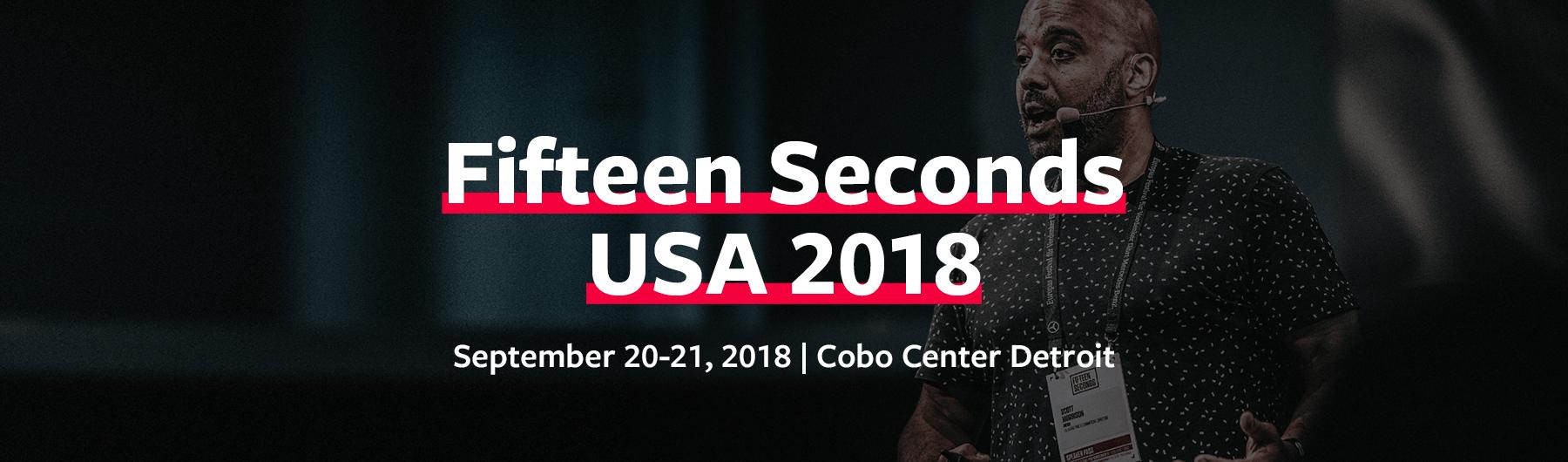 Fifteen Seconds USA 2018