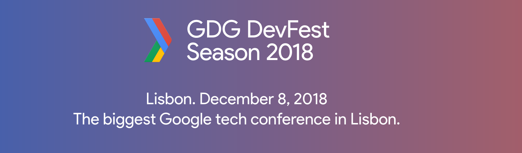 GDG DevFest Lisbon'18