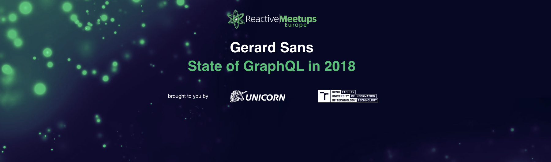 ReactiveMeetups Brno | Gerard Sans