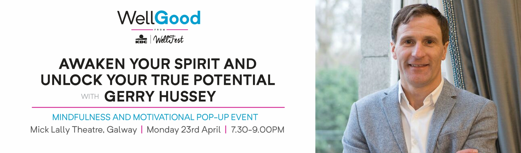 Awaken Your Spirit and Unlock Your Full Potential with Gerry Hussey