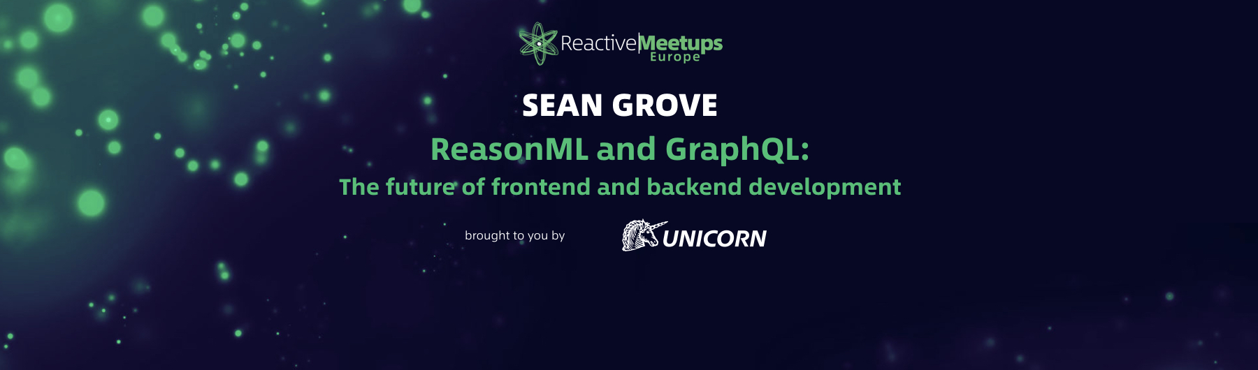 ReactiveMeetups Brno | Sean Grove