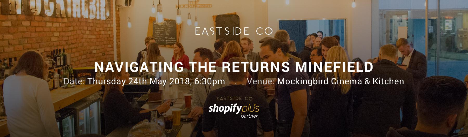Shopify Meet Up - Birmingham - May 2018