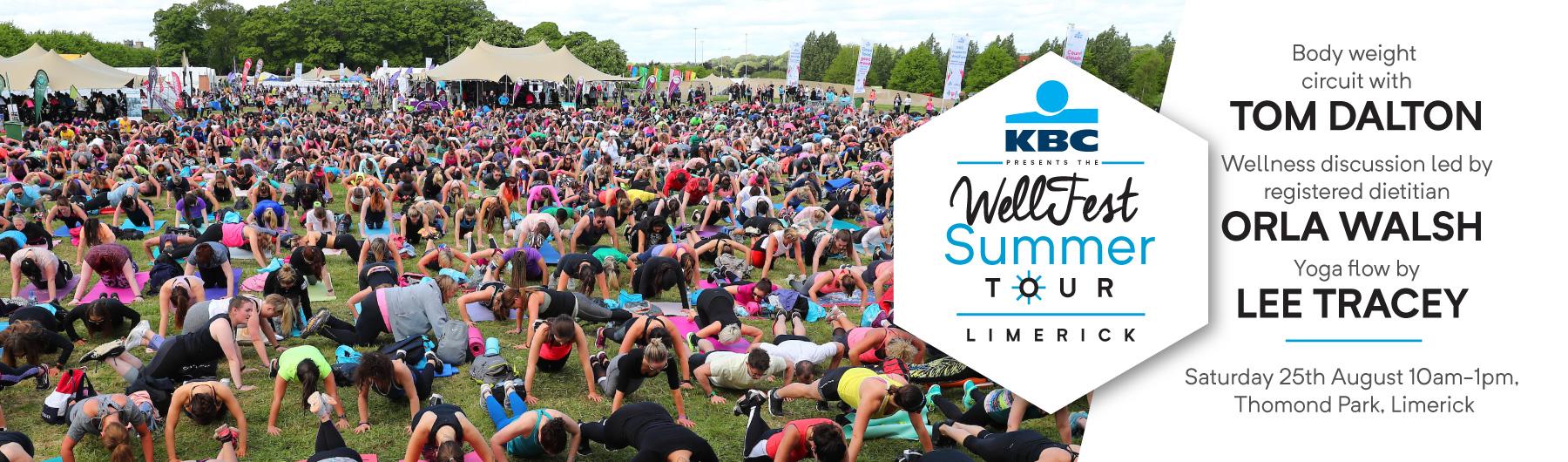 Limerick - KBC presents the WellFest Summer Tour