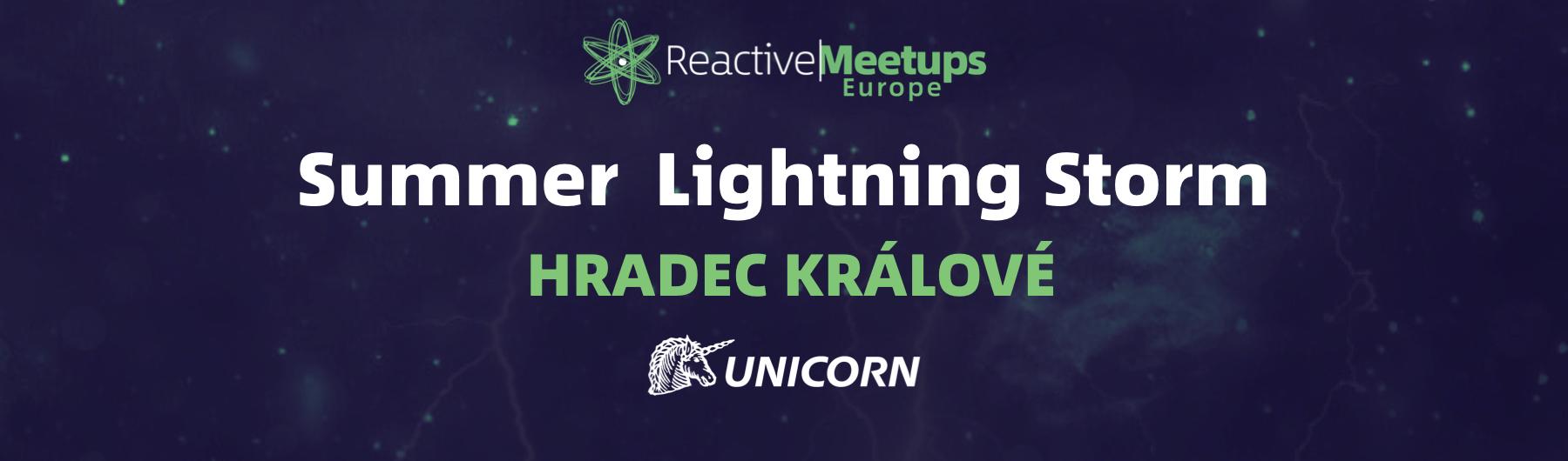 Summer Lightning Storm #2 Hradec Králové