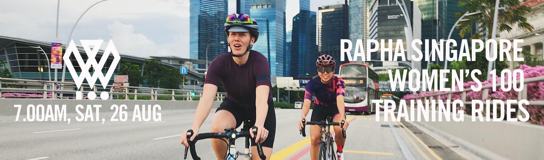 Rapha Singapore Women's 100 Training - Sunday Ride | 7.00am, 26 Aug 2018 | Macritchie Reservoir Drop Off