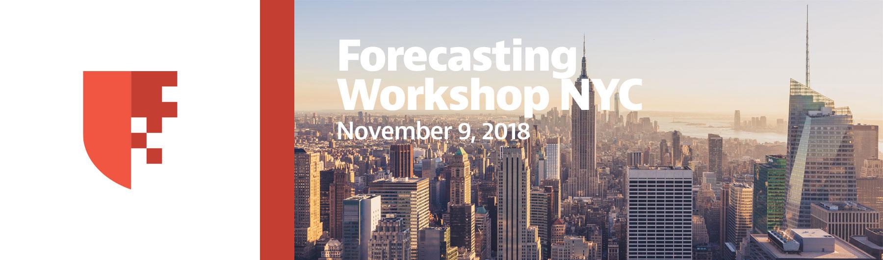 COMPLETE: Forecasting Workshop NYC