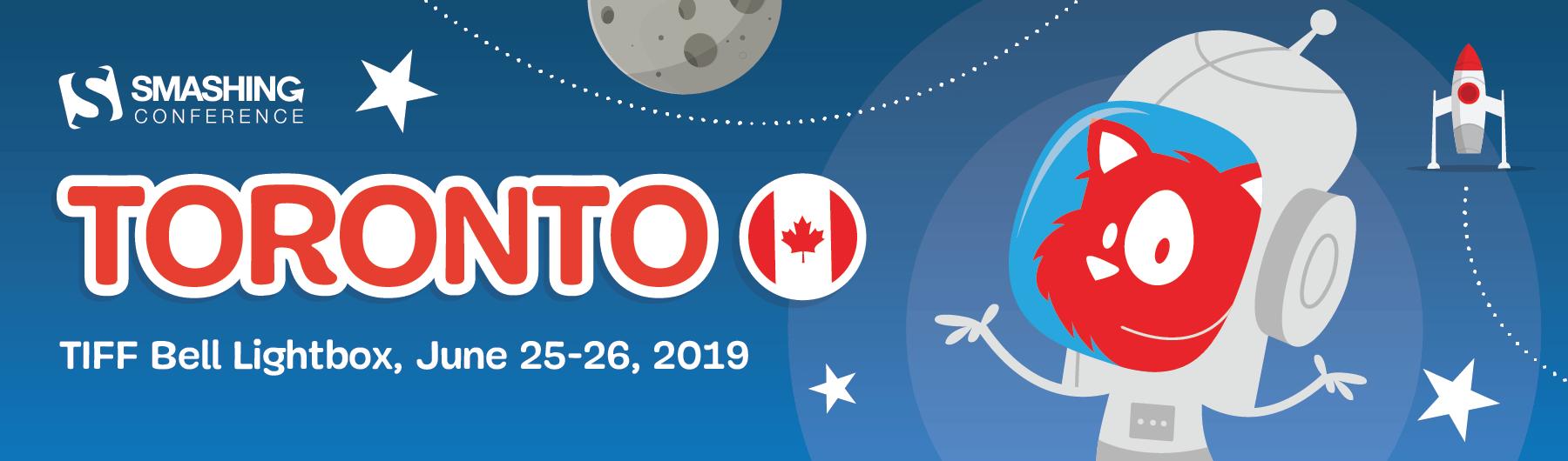 SmashingConf Toronto (June 24-27)