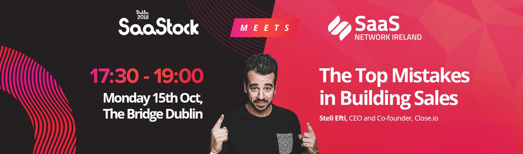SaaStock meets SaaS Network Ireland