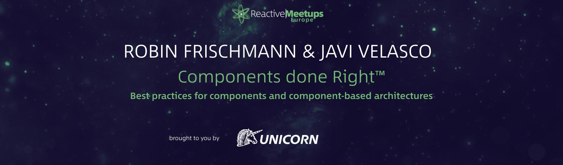ReactiveMeetups Brno | Frischmann & Velasco