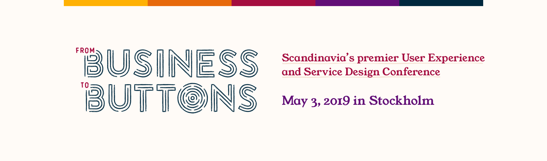 From Business to Buttons 2019