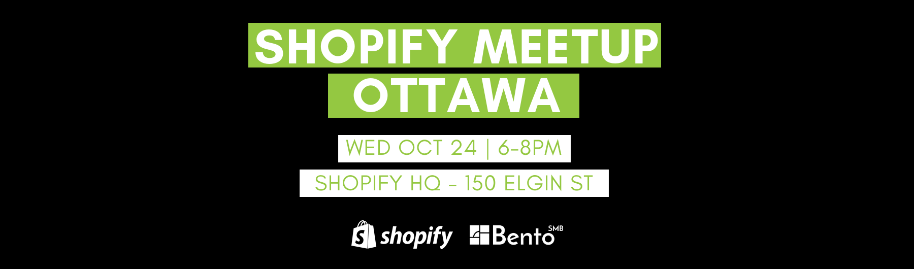 Shopify Meetup Ottawa | Crushing Black Friday and Cyber Monday
