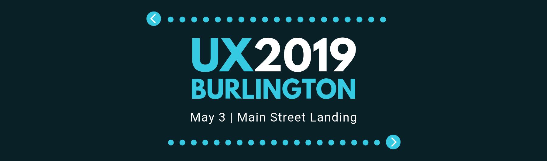 UX Burlington 2019