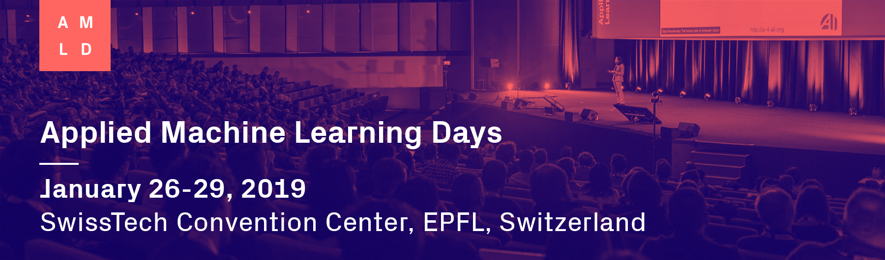 Applied Machine Learning Days 2019