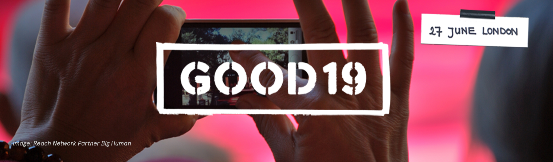 Great Outdoors Of Design conference (GOOD19)