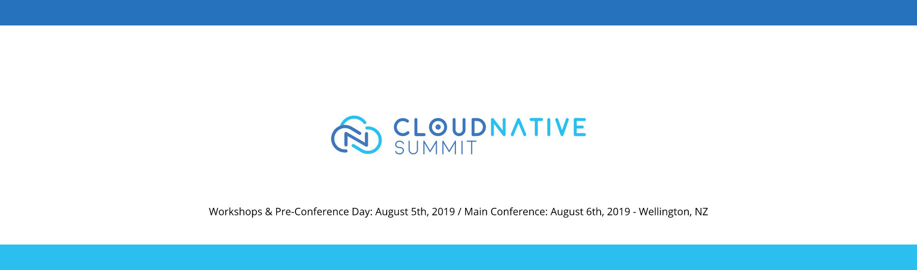 Cloud Native Summit 2019 - Wellington