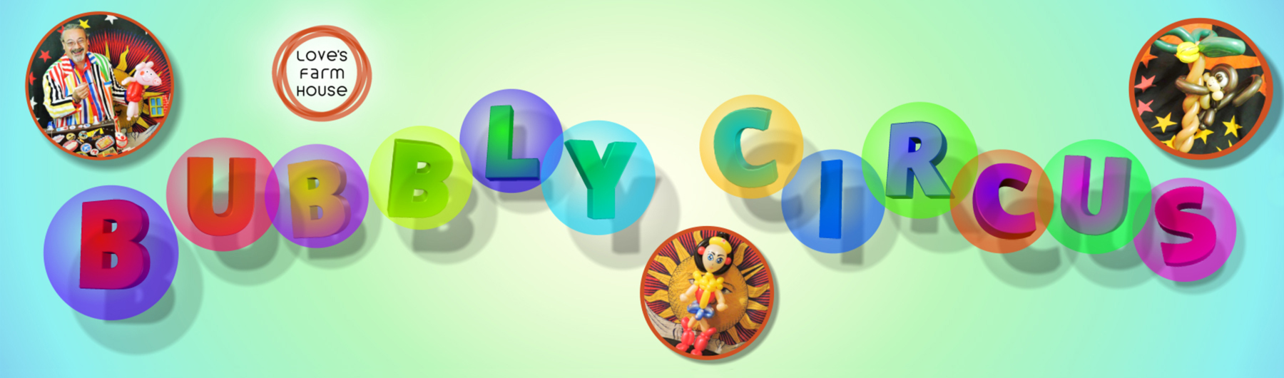 Bubbly Circus Magic & Balloon Modelling