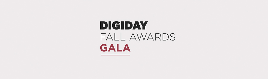 The Digiday Fall Awards Gala