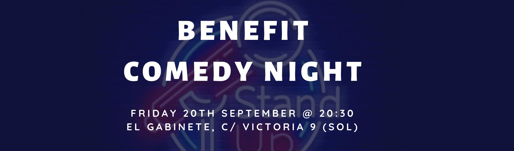 Benefit Comedy Night