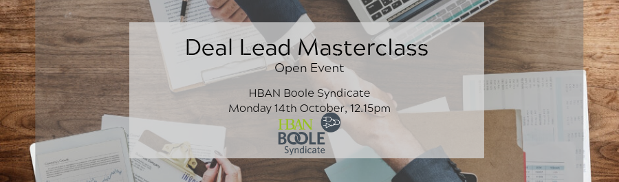 Angel Investing Deal Lead Masterclass