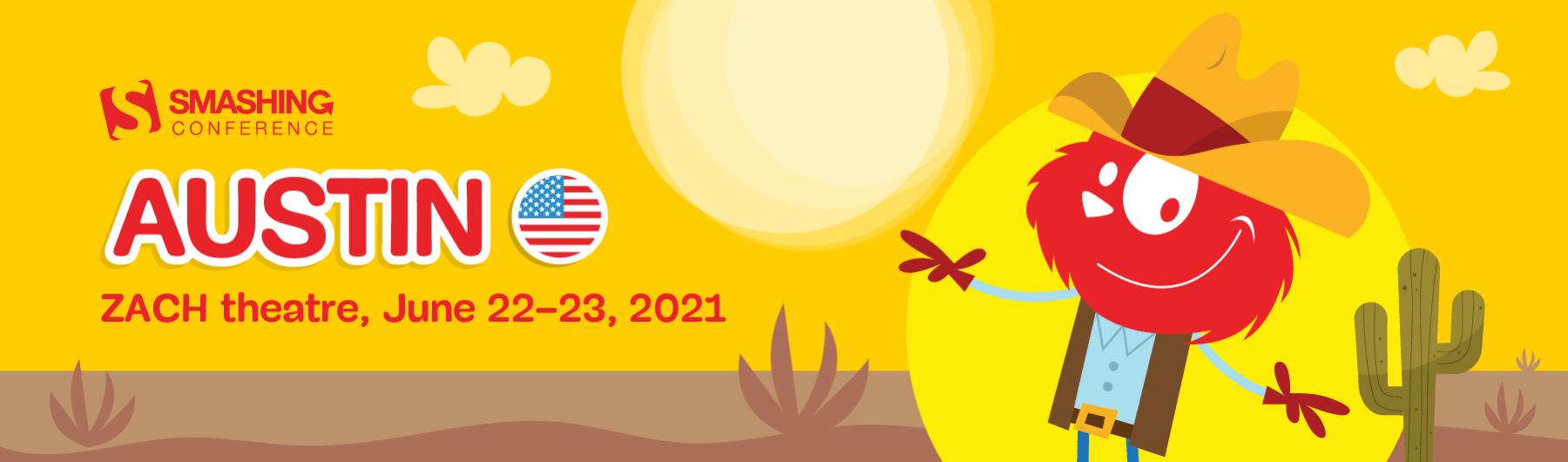 SmashingConf Austin 2021 (June 13–14)
