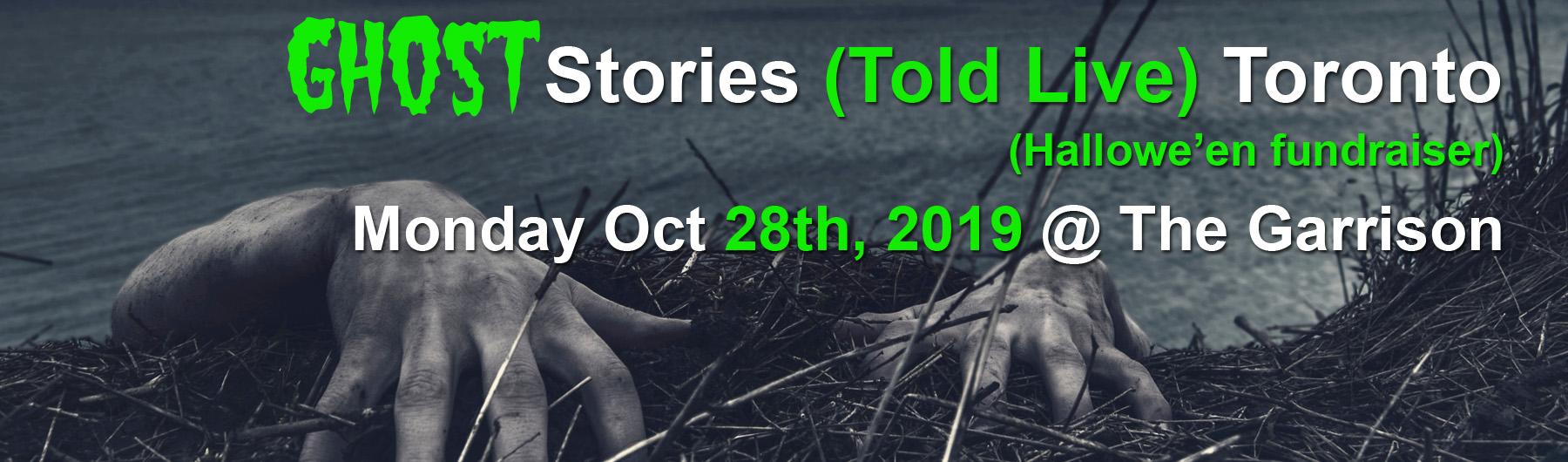 Ghost Stories Toronto 2019