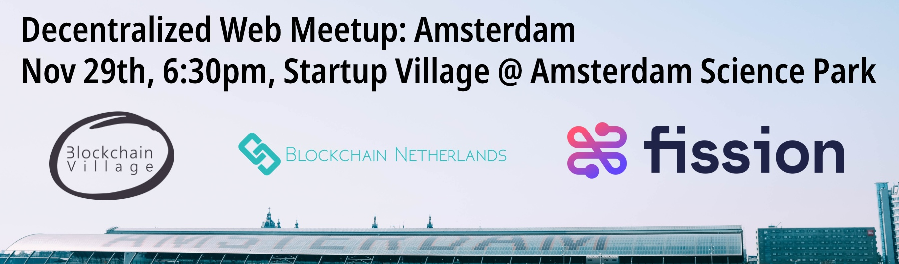 Decentralized Web Meetup Amsterdam