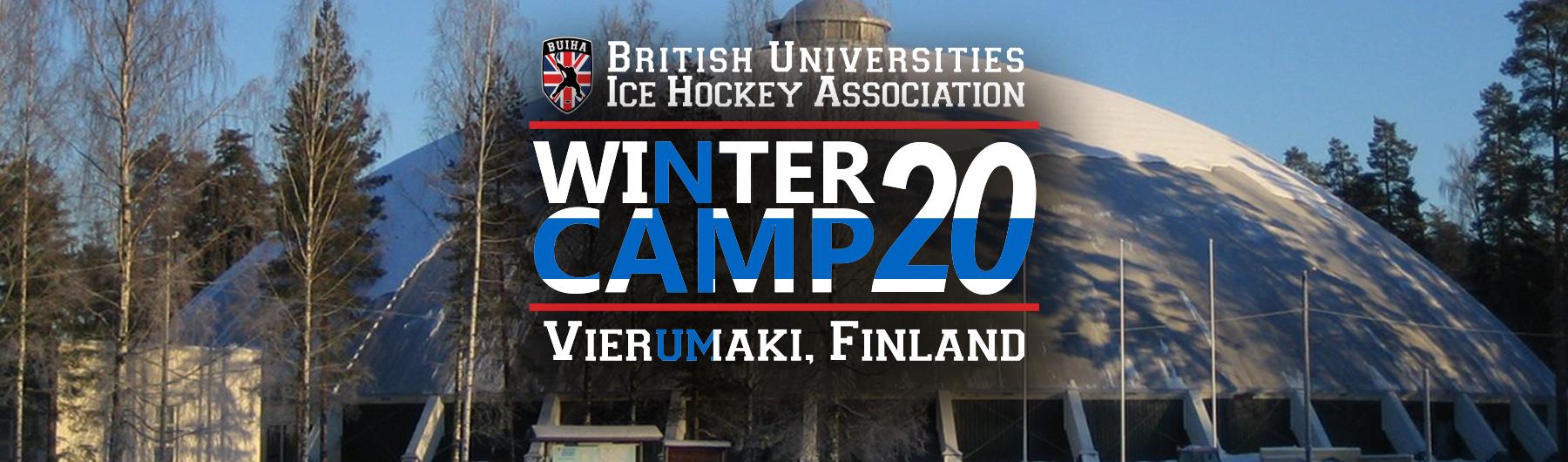 BUIHA Winter Training Camp - Vierumäki 2020