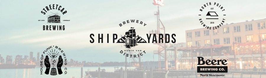 Shipyards Brewery District Boxing Day Crawl