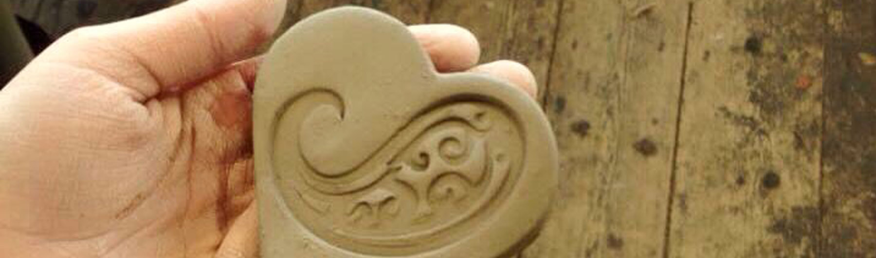 Family Art Workshop | Arabic Calligraphy Clay Tile