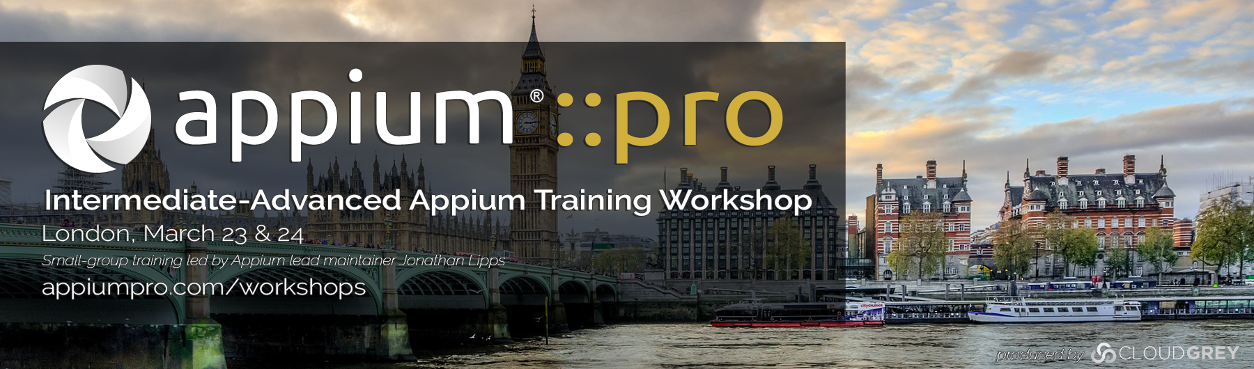 Appium Pro Intermediate-Advanced Workshop (London, March 2020)