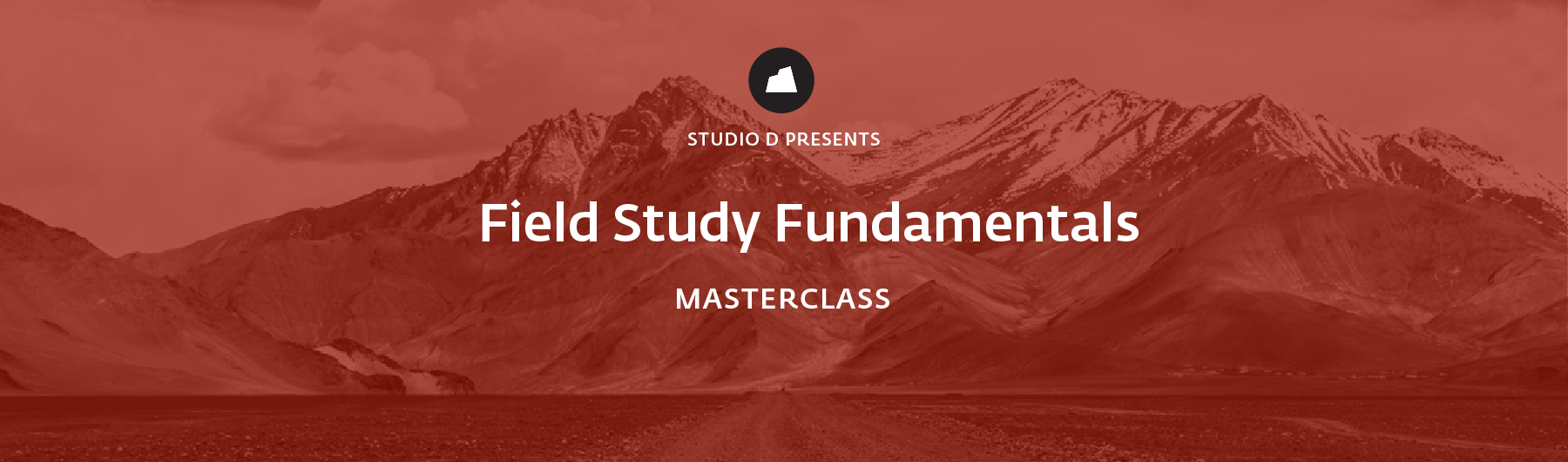 Field Study Fundamentals Masterclass, 16 April 2020, Bengaluru